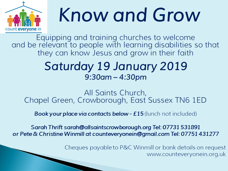 Know & Grow -Part 1 in Crowborough