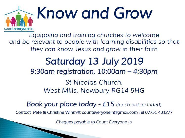 Know & Grow 1 newbury