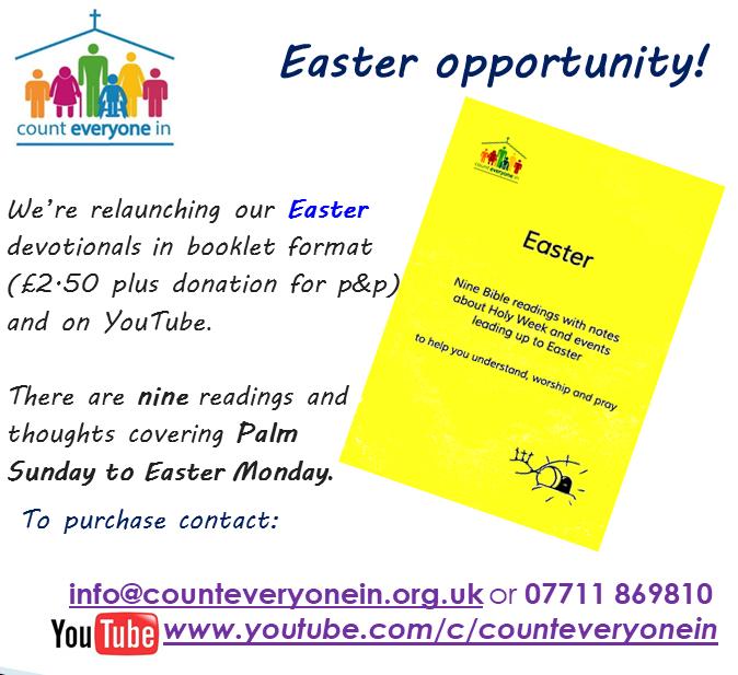 Easter opportunity  Easter leaflet